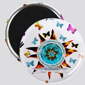CRPS RSD Warrior Starburst Shield Butterfl Magnets