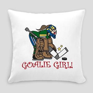 Goalie Girl Everyday Pillow