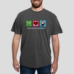 Peace Love Psychiatry Mens Comfort Colors Shirt