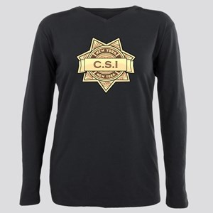 CSI New York Plus Size Long Sleeve Tee