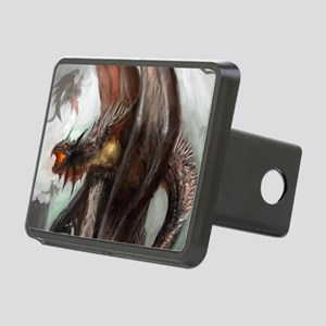 Dragon Nest Rectangular Hitch Cover