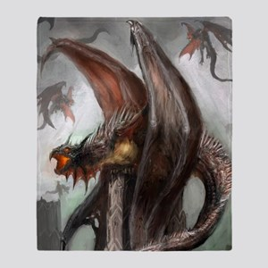 Dragon Nest Throw Blanket