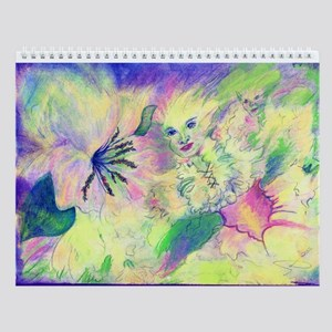 Hidden Fairy Fantasy Art Wall Calendar