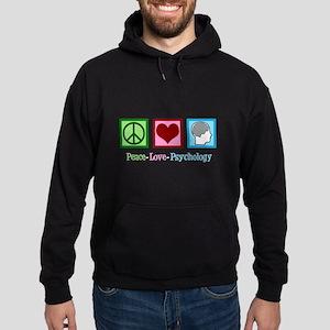 Peace Love Psychology Hoodie (dark)