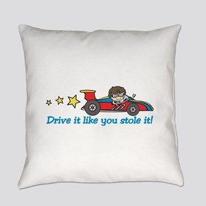Drive It! Everyday Pillow