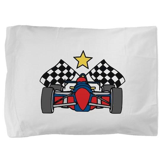 Formula One Racing Pillow Sham