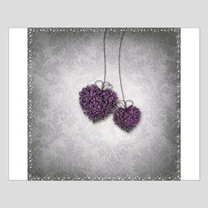 Purple Hearts Small Poster