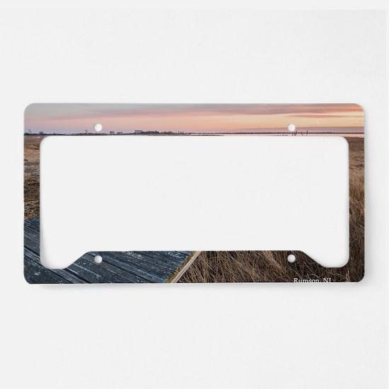 Unique Steve License Plate Holder