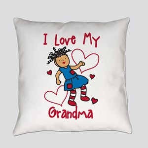 Love My Grandma Everyday Pillow