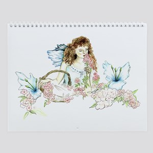 Wildflower Fairy Fantasy Art Wall Calendar