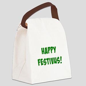 Happy FESTIVUS™! Canvas Lunch Bag