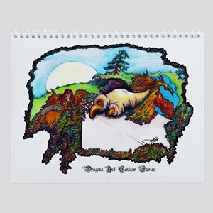 Dragon And Centaur Fairy Wall Calendar