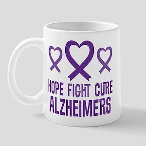Alzheimers Hope Fight Cure Mugs