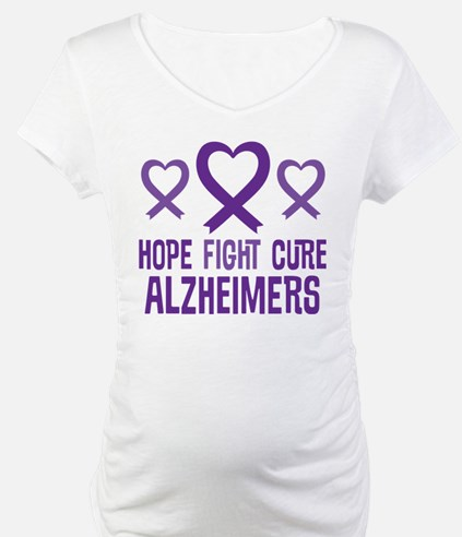 Alzheimers Hope Fight Cure Shirt