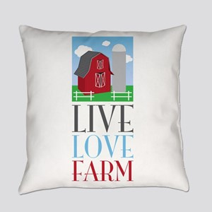 Live Love Farm Everyday Pillow