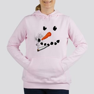 Bad Snowman Women's Hooded Sweatshirt