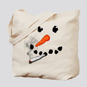 Bad Snowman Tote Bag