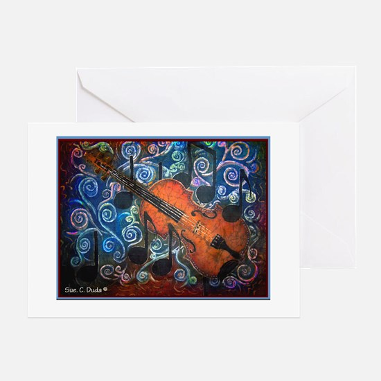 Fiddle-NO WORDING<br>Greeting Card