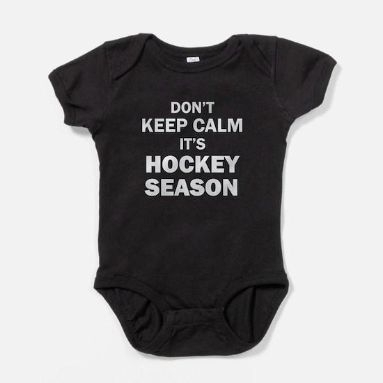IT'S HOCKEY SEASON Baby Bodysuit