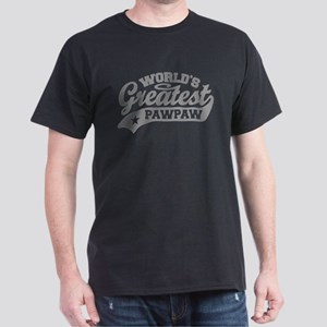 World's Greatest PawPaw Dark T-Shirt