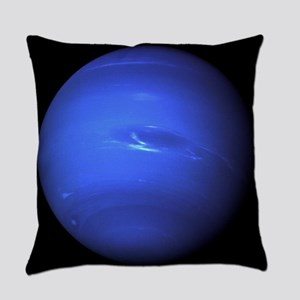 Neptune by the Voyager 2 Everyday Pillow