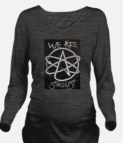 We Are Stardust Long Sleeve Maternity T-Shirt