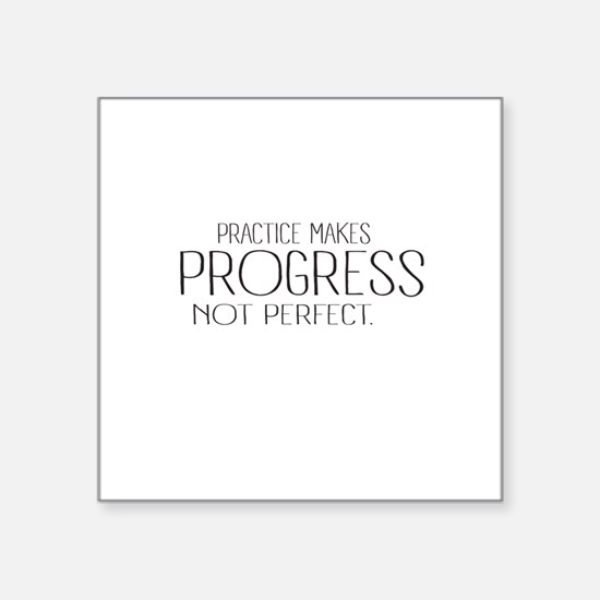 Practice Make Progress Sticker