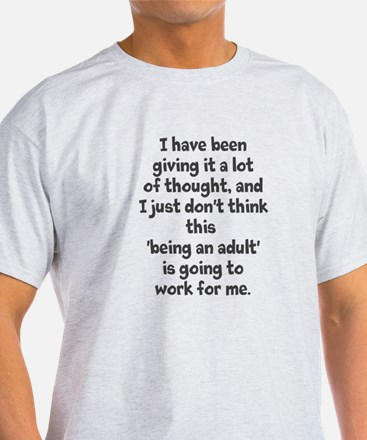 Funny Young adult T-Shirt