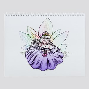 Fairy Child Princess Fantasy Art Wall Calendar
