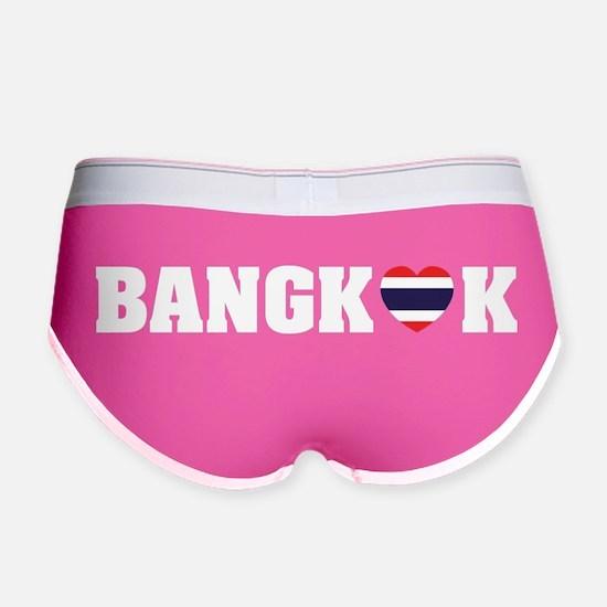BANGKOK LOVE HEART THAI FLAG Women's Boy Brief