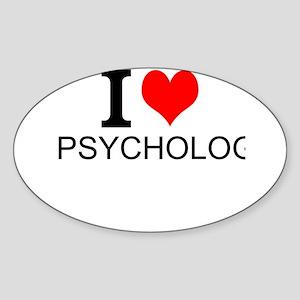 I Love Psychology Sticker