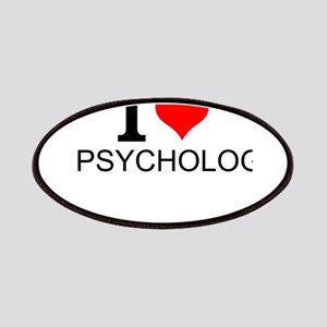 I Love Psychology Patch