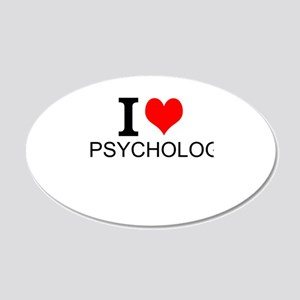 I Love Psychology Wall Decal