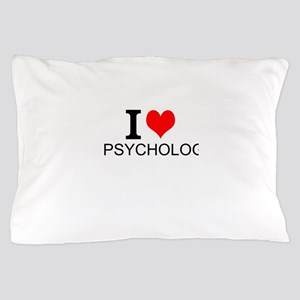 I Love Psychology Pillow Case
