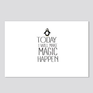 Today Magic Will Happen Postcards (Package of 8)