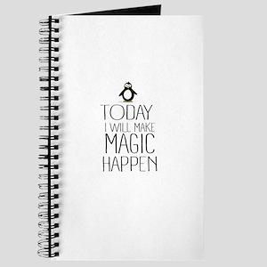 Today Magic Will Happen Journal