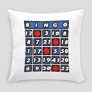 Bingo Card Everyday Pillow