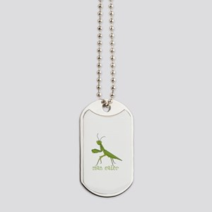 Man Eater Dog Tags