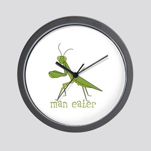 Man Eater Wall Clock