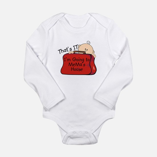 Going to Mema's Funny Infant Bodysuit Body Suit