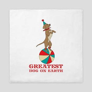 Circus Dog Queen Duvet