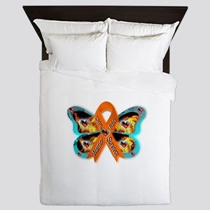 CRPS RSD FIre & Ice Warrior Survivor R Queen Duvet