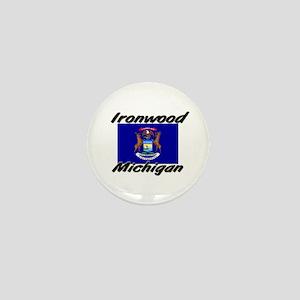 Ironwood Michigan Mini Button