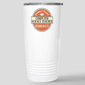 computer science teache Stainless Steel Travel Mug