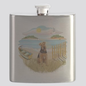 Rowboat - Airedale 1 Flask