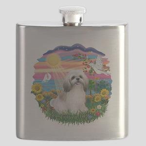 AutumnSun-ShihTzu (wt) Flask