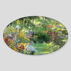 Three Gardens Meet Sticker