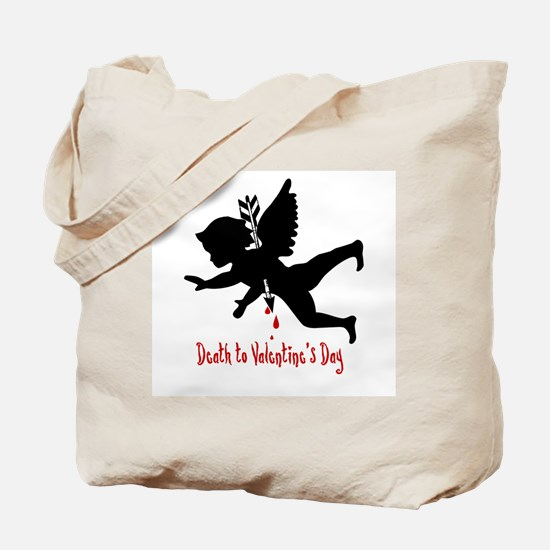Death to Valentines Day Tote Bag