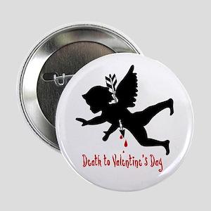Death to Valentines Day Button