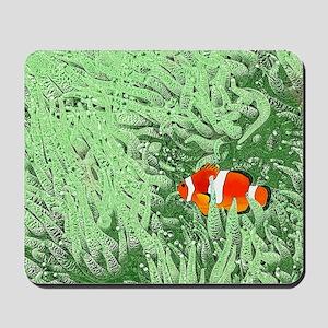 Clownfish Mousepad